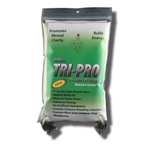 Willies TriPro Green Tea