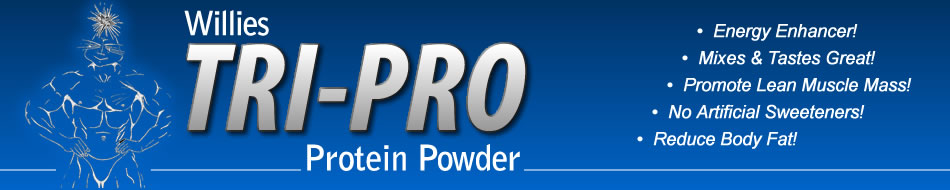 willies tripro protein powder