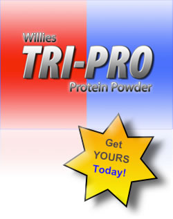 Willies TRI-PRO Protein powder